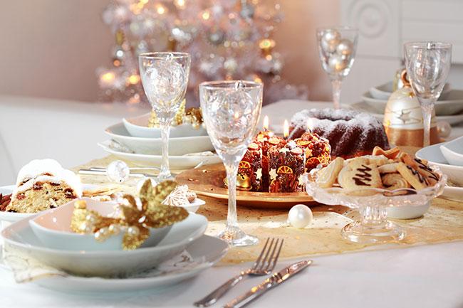 10 ideas de centros de mesa para Navidad